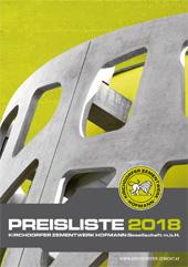 Preisliste 2018
