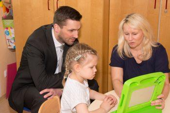 Spende für den heilpädagogischen Kindergarten der Lebenshilfe in Kirchdorf