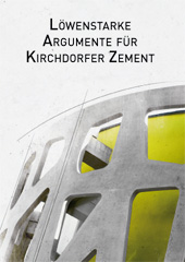 Löwenstarke Argumente für Kirchdorfer Zement