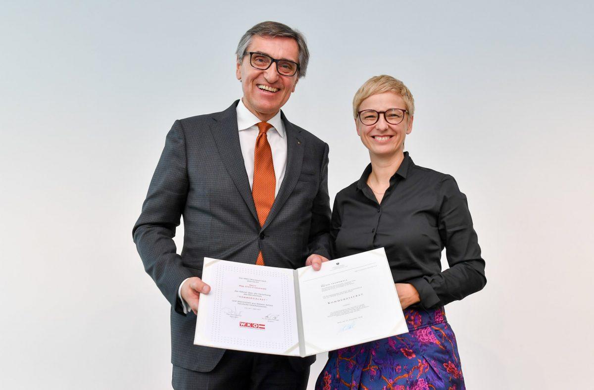 Mag. Erich Frommwald (l.), Mag. Doris Hummer