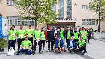 Linz Donau Marathon am 14. April 2019