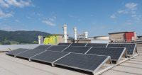 Photovoltaik-Testanlage im Kirchdorfer Zementwerk